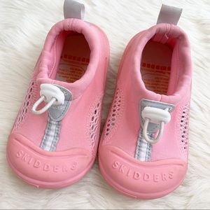 SKIDDERS Sun Grip Pink Water Shoes Size 8 / 24M